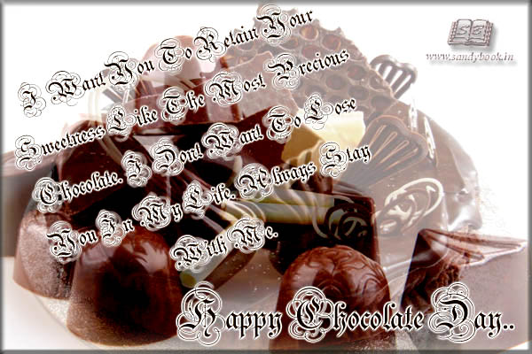 Happy Chocolate Day Wishes 28