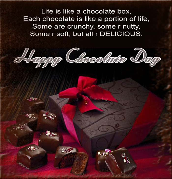 Happy Chocolate Day Wishes 30