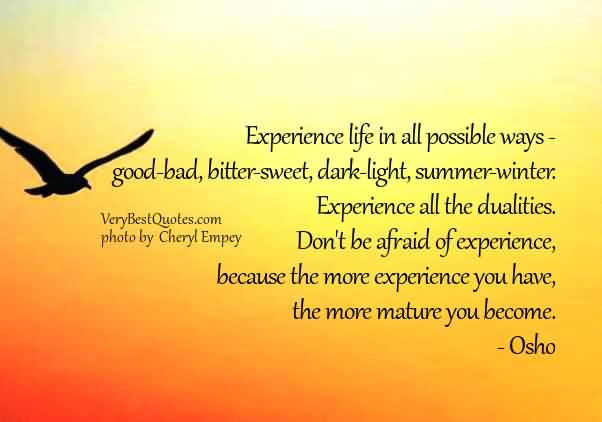 Life Experience Quotes 42