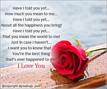 Poems really her love cute for Funny Love