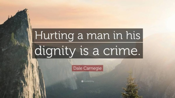 Dignity Quotes 40