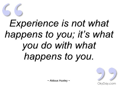 Experience Quotes 023