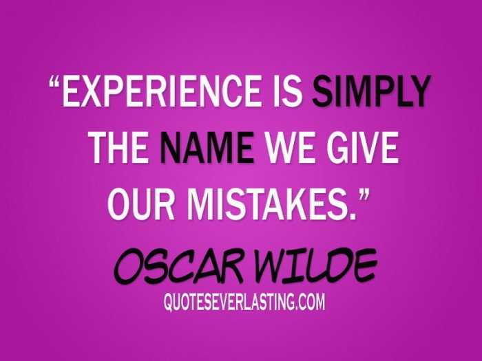 Experience Quotes 038
