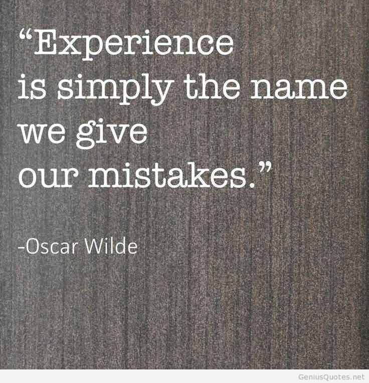 Experience Quotes 080