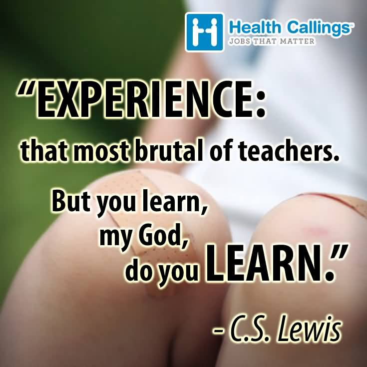 Experience Quotes 082
