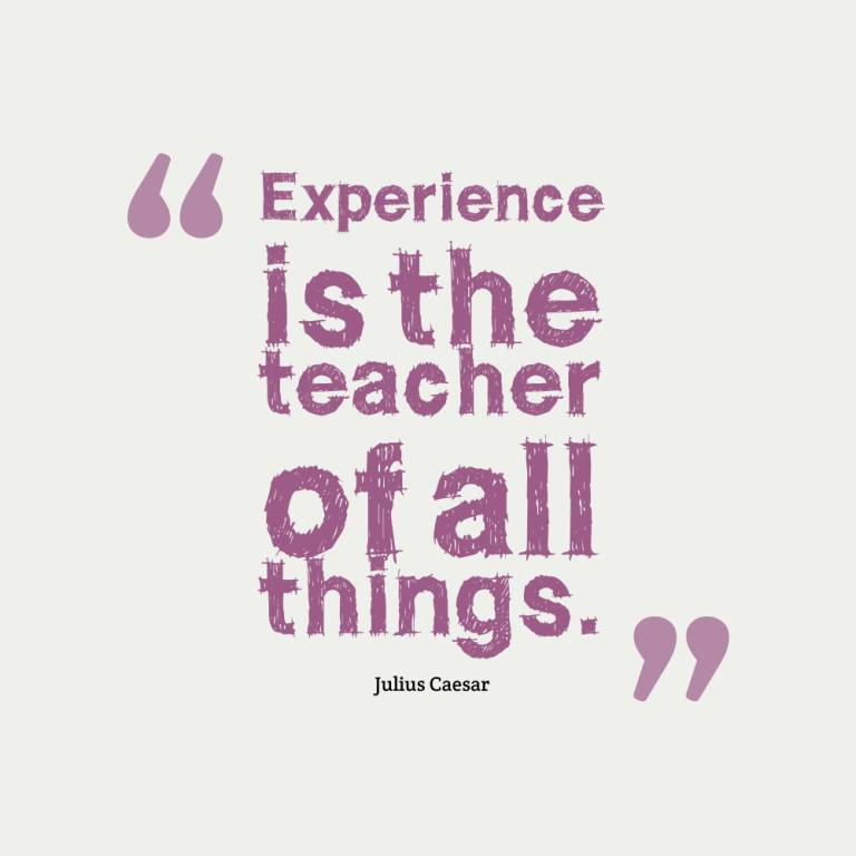 Experience Quotes 095