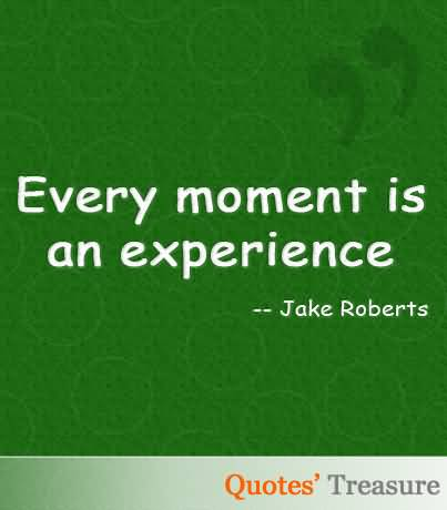 Experience Quotes 096