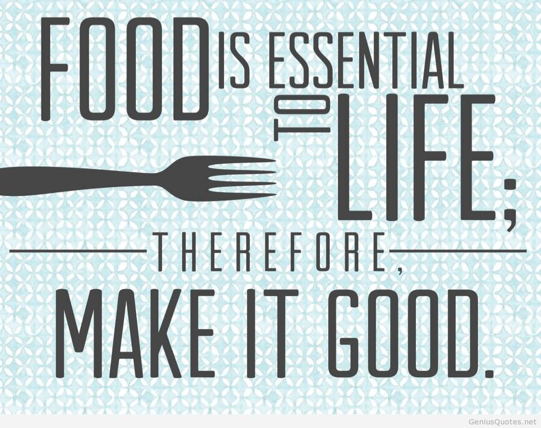 Food Quotes 103