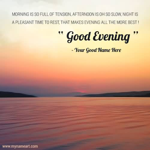 Good Evening Wishes 002