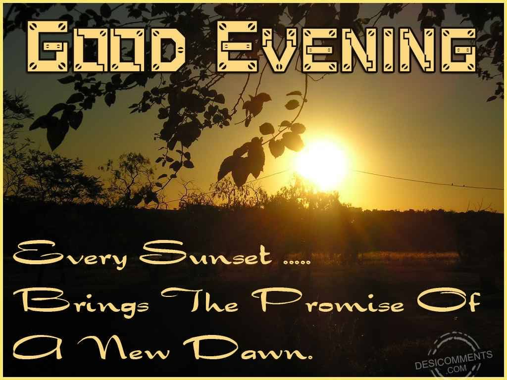 Good Evening Wishes 003