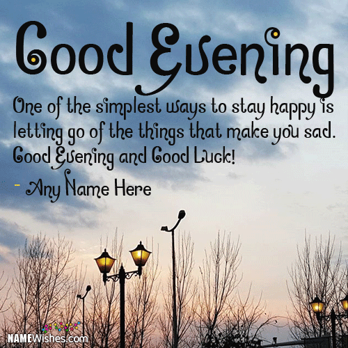 Good Evening Wishes 008