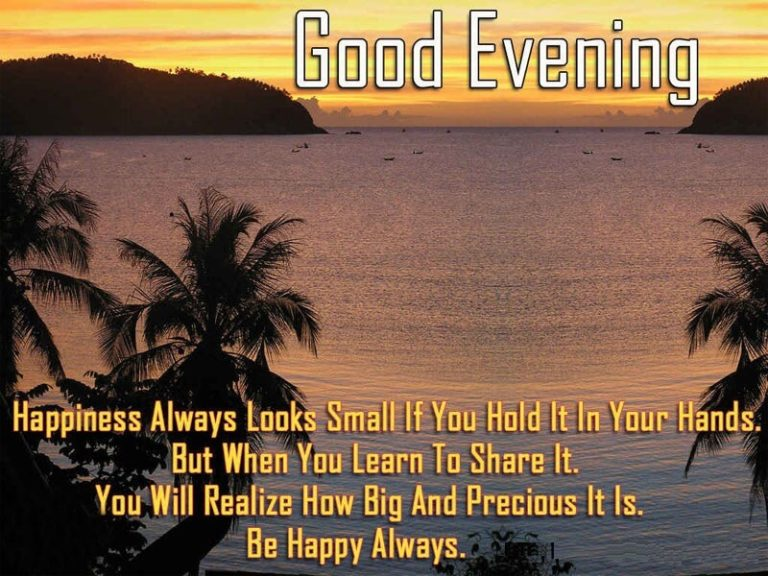Good Evening Wishes 025