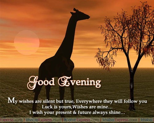 Good Evening Wishes 027