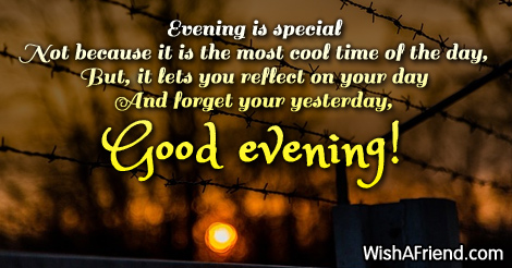 Good Evening Wishes 27