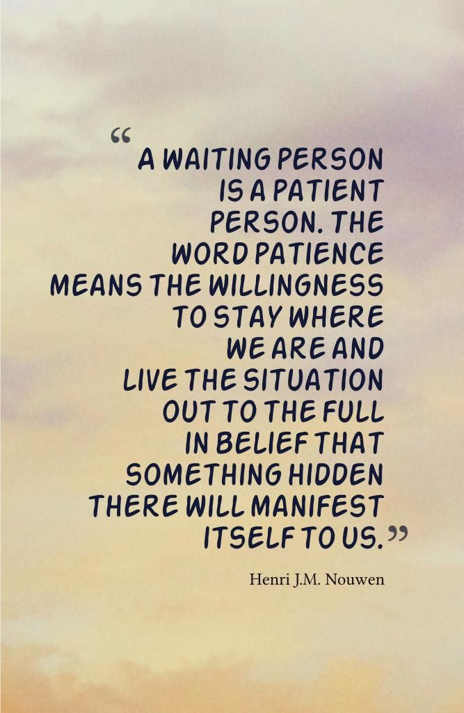 Patience Quotes 050
