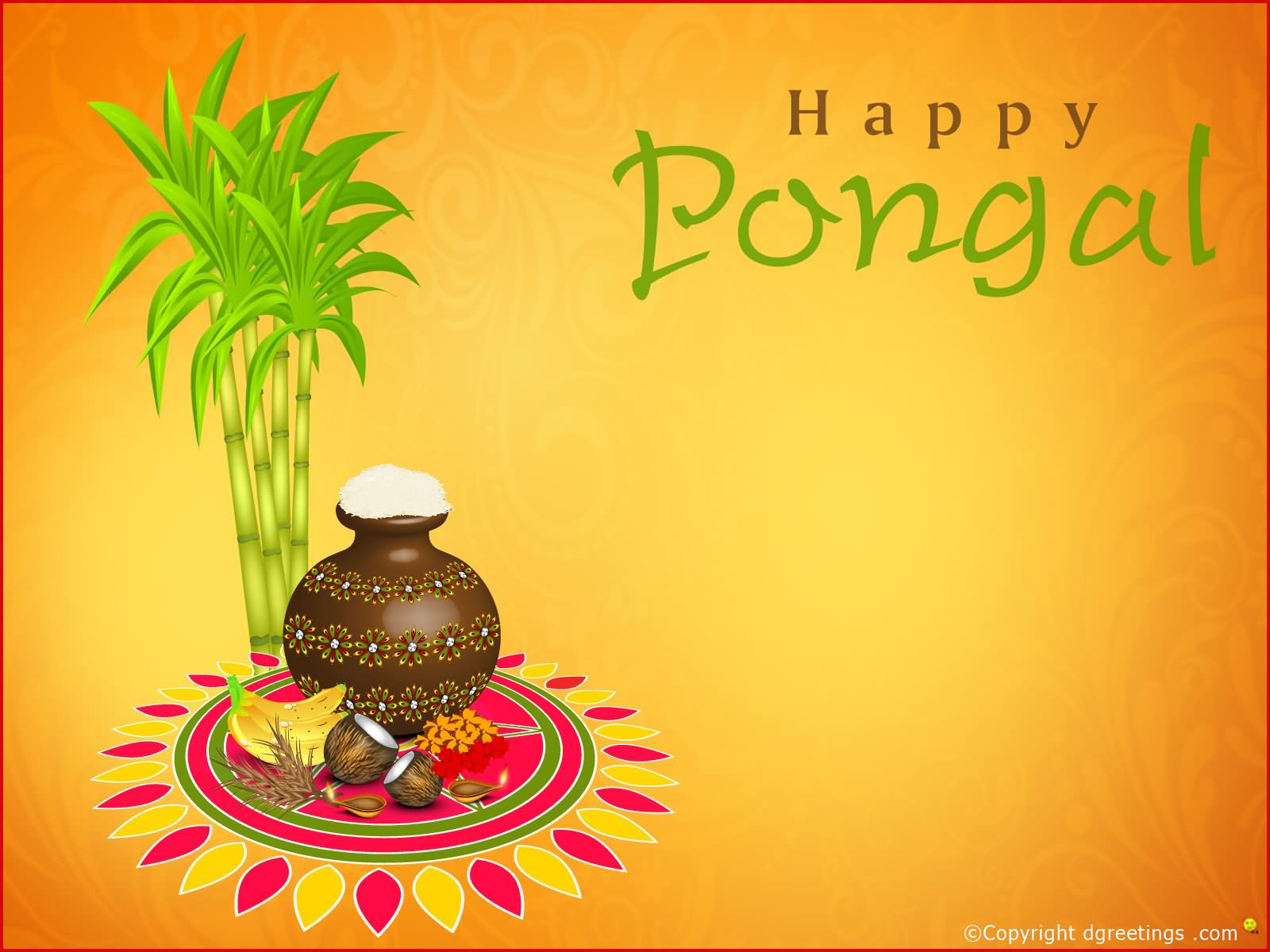 Top 20 Happy Pongal Wishes And Graphics Collection