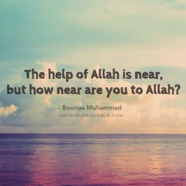 Allah Help Quotes