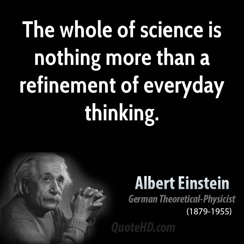 Best Science Quotes By Albert Einstein