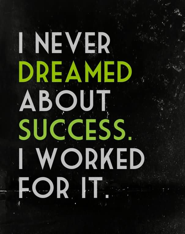 Dream Quotes About Success