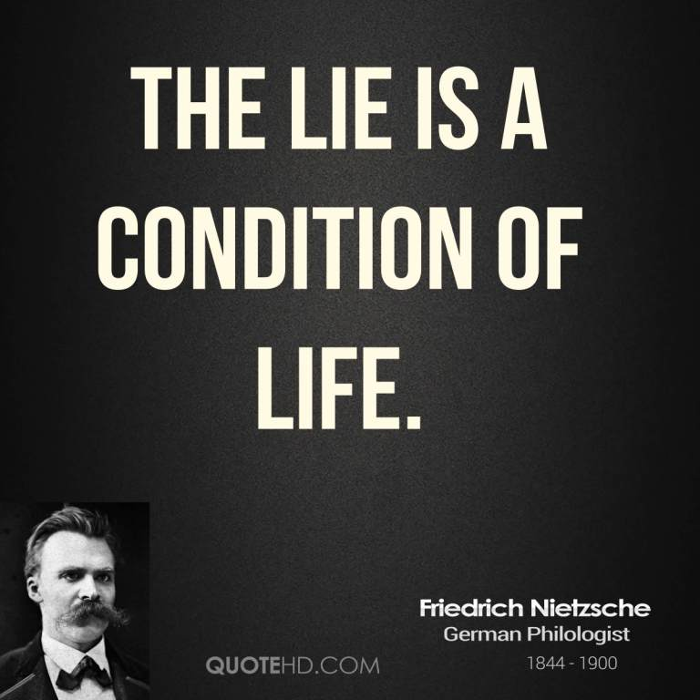 Lie Quotes About Life