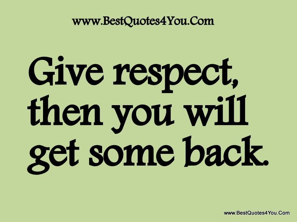 Respect Quotes 058