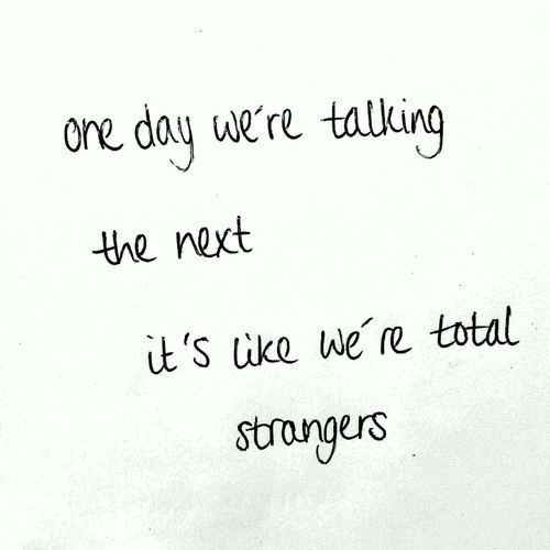 Teen Quotes About Strangers