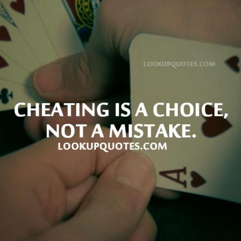001 @ Cheating Quotes