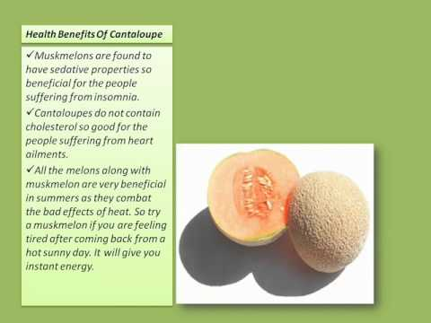 01 @ Health Benefits Of Cantaloupe