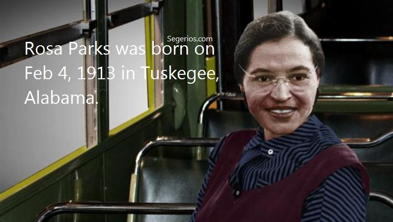 01 @ Rosa Parks Facts
