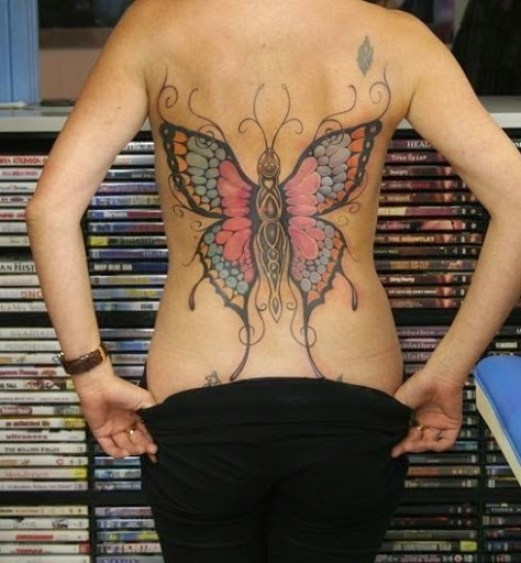 015 @ Butterfly Tattoos Sexiest
