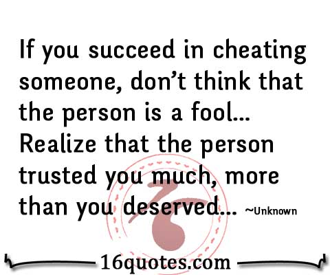 015 @ Cheating Quotes