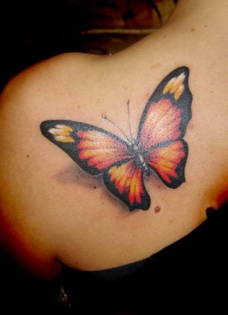 02 @ Butterfly Tattoo