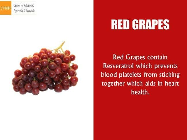 02 @ Health Benefits Of Grapes