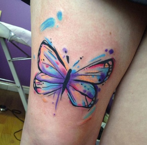 028 @ Butterfly Tattoos Cool