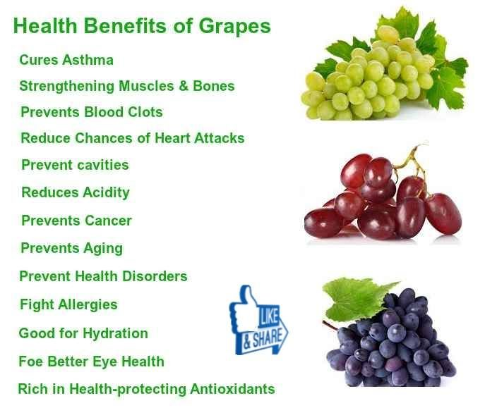 04 @ Health Benefits Of Grapes