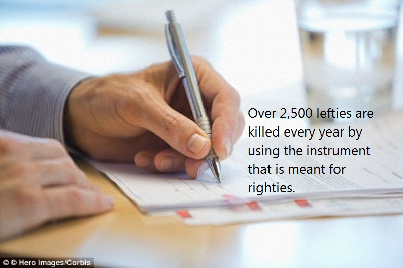 04 @ Left Handed People Facts