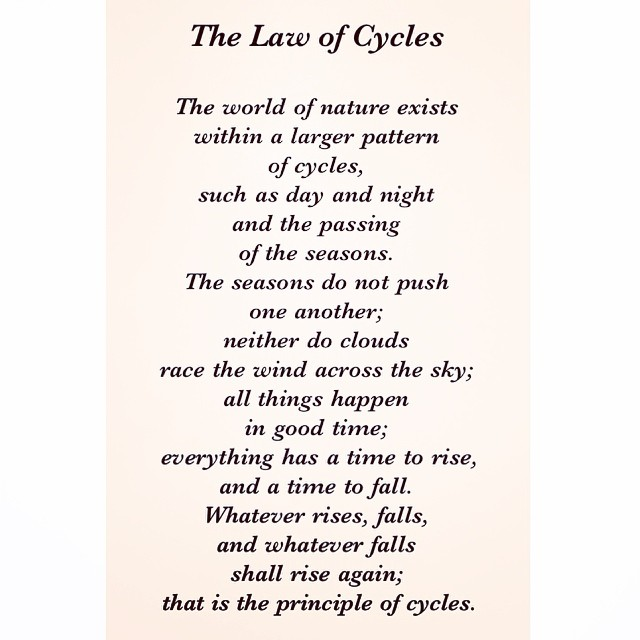 04 Universal Laws About Cycles