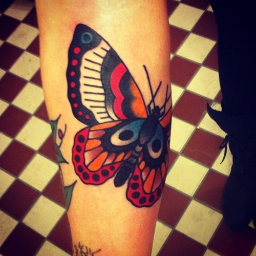044 @ Butterfly Tattoos Hottest