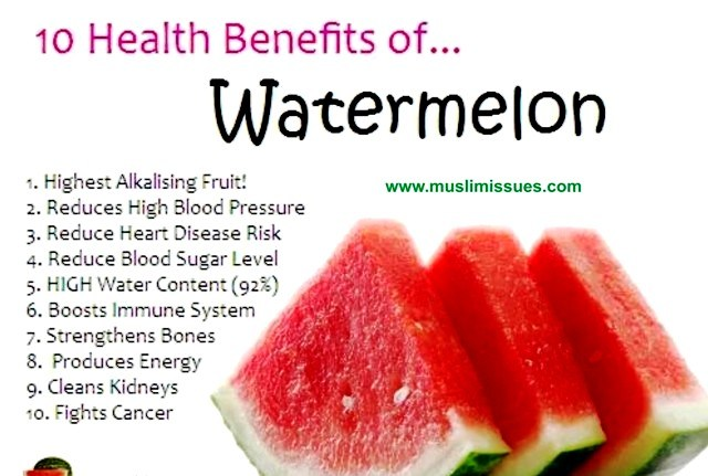 05 @ Health Benefits Of Watermelon
