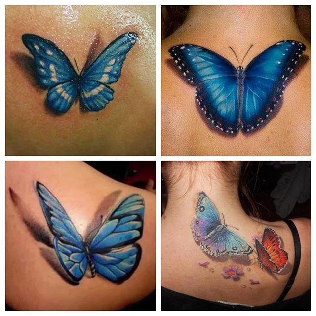 052 @ Butterfly Tattoos Coolest