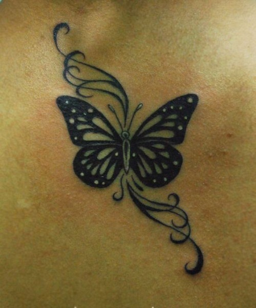 057 @ Butterfly Tattoos Awesome
