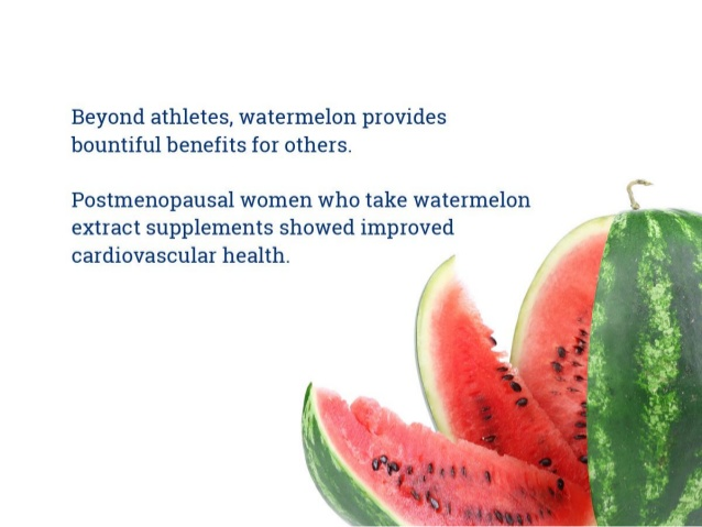 06 @ Health Benefits Of Watermelon