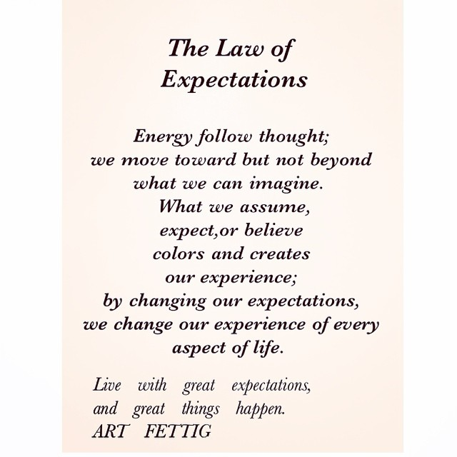 06 Universal Laws About Expectations