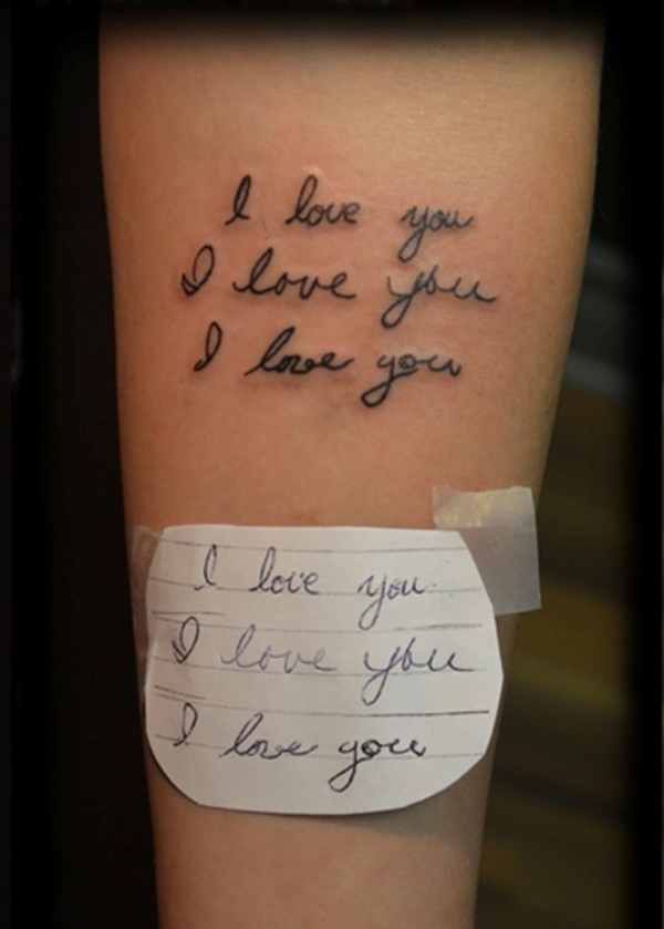 100 Most Attractive Love Tattoos Symbol And Sign Designs