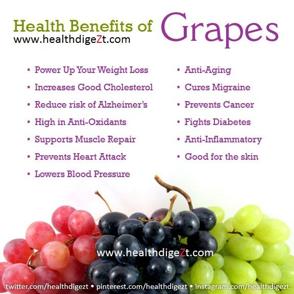 07 @ Health Benefits Of Grapes
