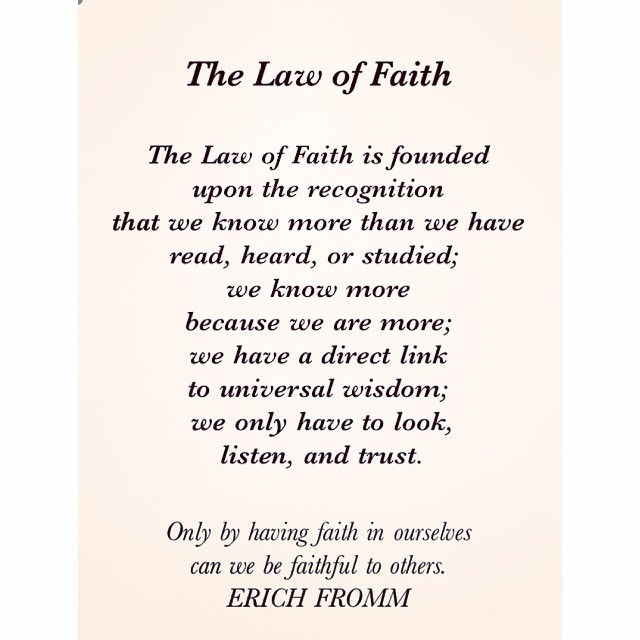 07 Universal Laws About Faith