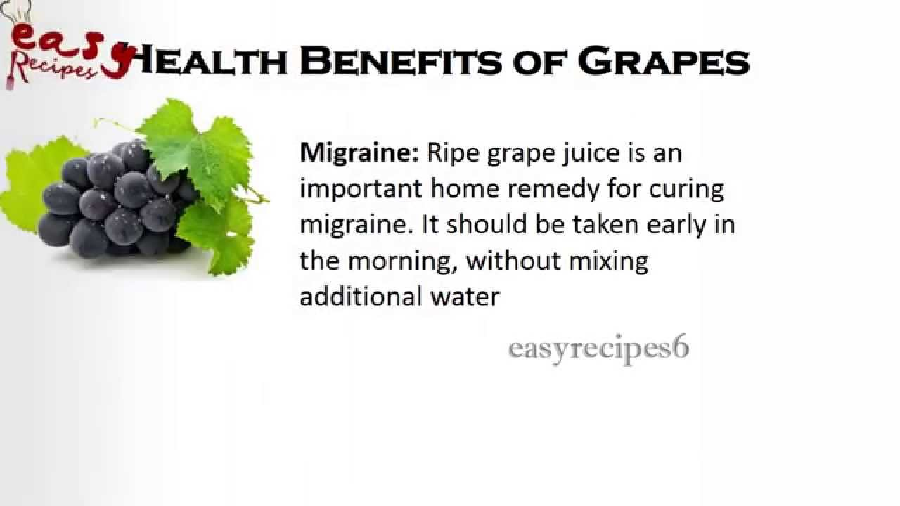 08 @ Health Benefits Of Grapes