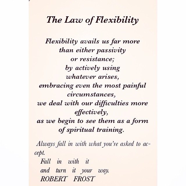 08 Universal Laws About Flexibility