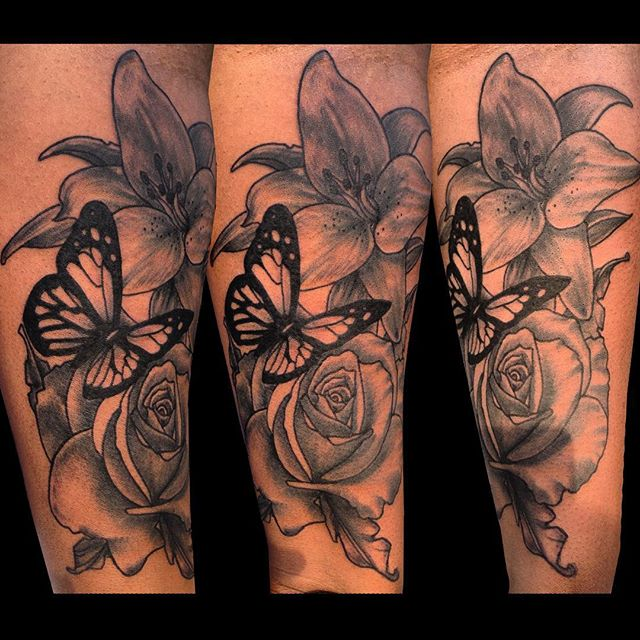 080 @ Butterfly Tattoos Famous