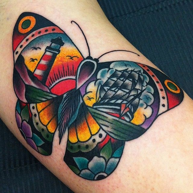 082 @ Butterfly Tattoos Awesome